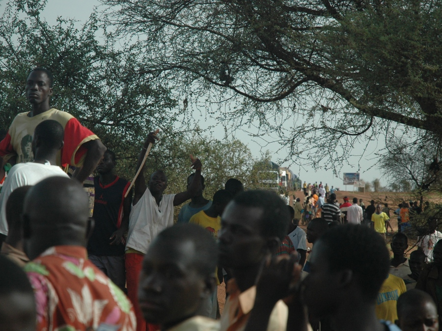 Djibo road protesters