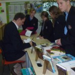 Stephen Davies book signing at the Regis School