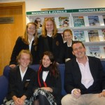 Year 9 Oakham School author visit