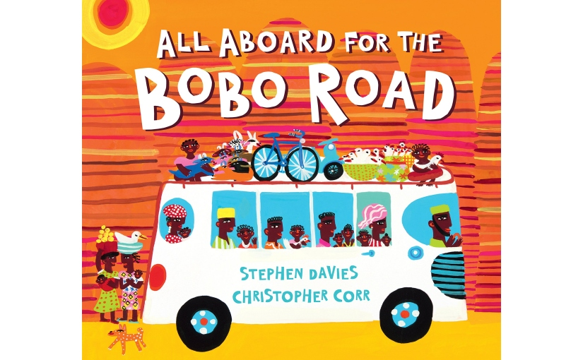 ALL ABOARD FOR THE BOBO ROAD cover reveal