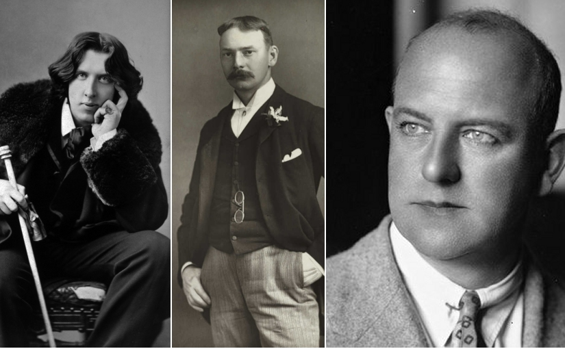 Oscar Wilde, Jerome K Jerome and PG Wodehouse