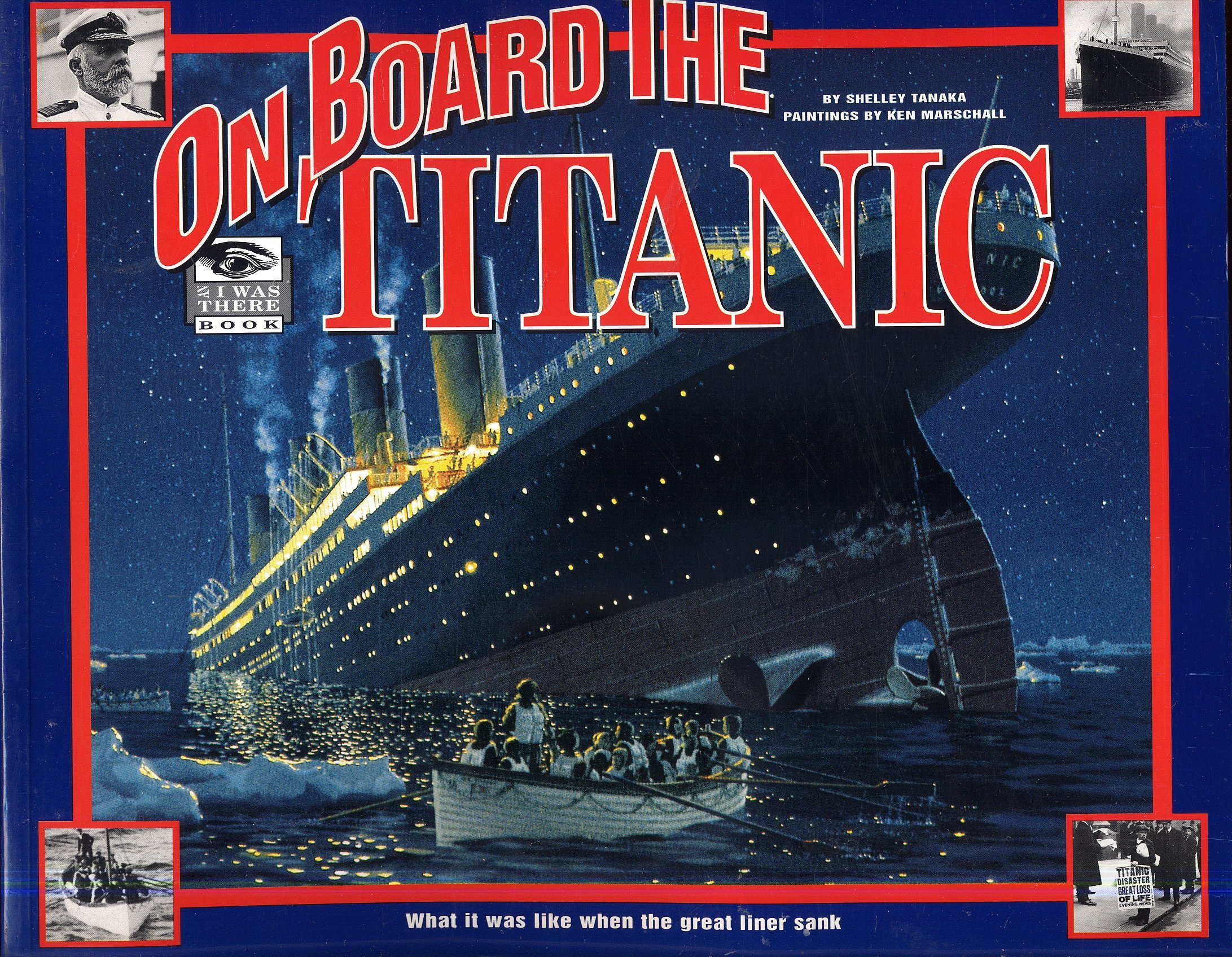 b1aad1f6 8 Children's Books about the Titanic disaster | Stephen Davies