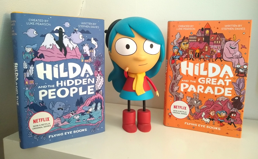 Hilda and the Great Parade is out now (Flying Eye Books)