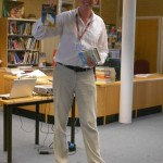 Stephen Davies visit to Chichester High School for Boys