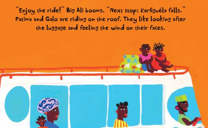 All Aboard for the Bobo Road written Stephen Davies illustrated Christopher Corr