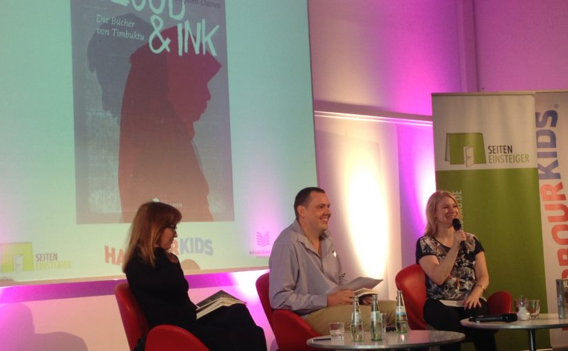 Blood and Ink at Harbour Front Literary Festival in Hamburg