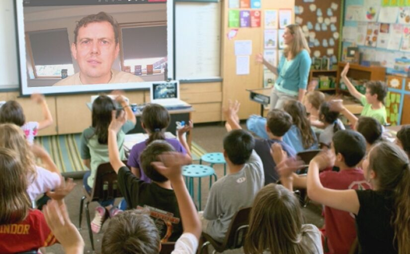 Virtual Author Visits