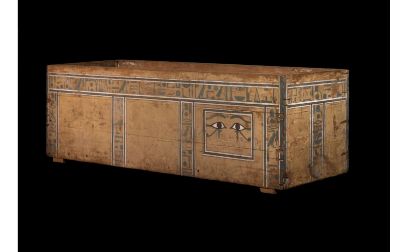 Treasures of Ancient Egypt Day 11: the Coffin of Naktankh